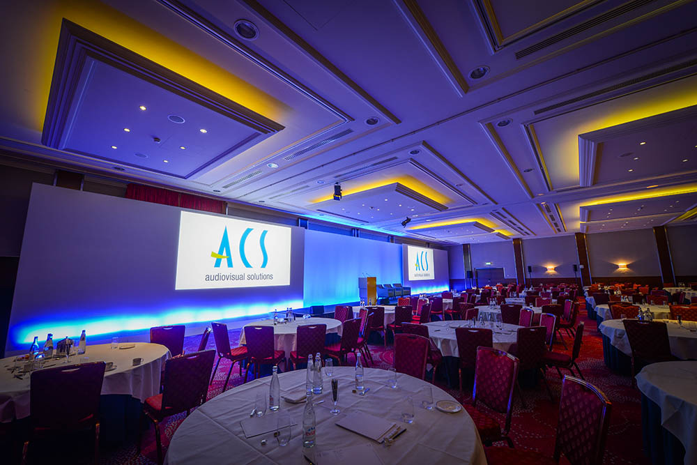 Visual frame in hotel - ACS audiovisual solutions